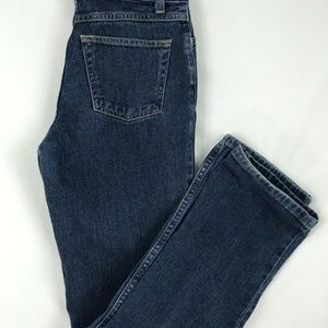 Loft Straight Leg Medium Wash Jeans Size 4